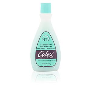 Cutex, CUTEX quitaesmalte con keratina 100 ml