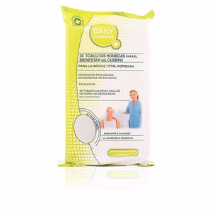Lingettes humides DAILY COMFORT toallitas humedas corporales Daily Comfort