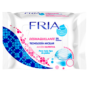 Make-up remover FRIA toallitas desmaquillantes micelar skin massage Fria