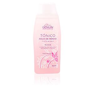 GENUIN agua de rosas tónico suave 250 ml