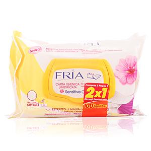 FRIA papel higienico humedo sensitive 2x50 uds