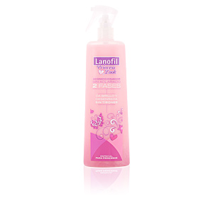 LANOFIL acondicionador bifásico princess look 400 ml