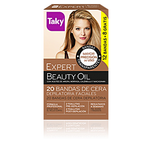 Enthaarungswachs BEAUTY OIL bandas de cera faciales depilatorias Taky
