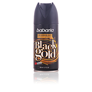 BABARIA MEN BLACK GOLD