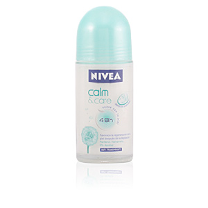 Desodorizantes CALM & CARE anti-transpirante roll-on Nivea