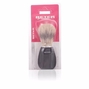 Brocha afeitado BROCHA DE AFEITAR mango negro cerda de caballo Beter