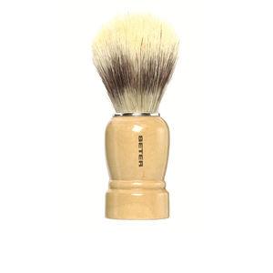 Shaving Brush BROCHA DE AFEITAR mango madera pelo sintético Beter