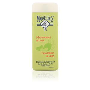 Gel de banho MANDARINA Y LIMA gel de ducha Le Petit Marseillais
