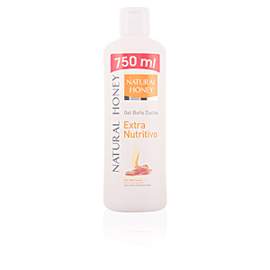 MIEL 100% NATURAL extra nutritivo gel de ducha 750 ml