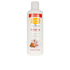 Shower gel ACEITE ALMENDRAS DULCES hidratante gel de ducha Natural Honey