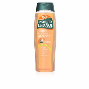 Shower gel JABON NATURAL GLICERINA baño y ducha Instituto Español