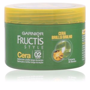 Producto de peinado FRUCTIS STYLE cera definición & brillo Garnier