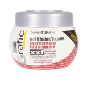 Hair styling product GRAFIC efecto cemento gel fijador extremo Garnier