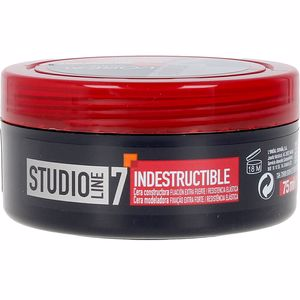 Hair styling product STUDIO LINE indestructible cera moldeadora nº5 L'Oréal París