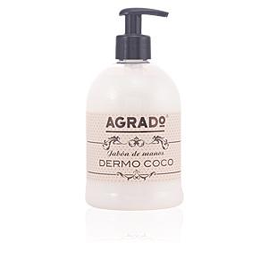 Hand soap DERMO COCO jabón de manos Agrado