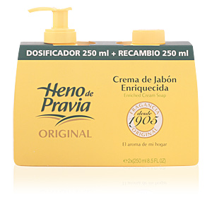 Hand soap ORIGINAL enriched cream soap Heno De Pravia