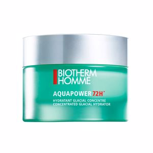 Face moisturizer HOMME AQUAPOWER 72h concentrated glacial hydrator Biotherm