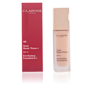 Base de maquillaje TEINT HAUTE TENUE + SPF15 Clarins