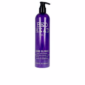 Champú color BED HEAD DUMB BLONDE purple toning shampoo Tigi