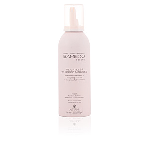 Hair styling product - Hair styling product BAMBOO VOLUME weightless whipped mousse Alterna