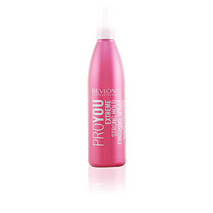Hair styling product PROYOU EXTREME strong hold finishing spray Revlon