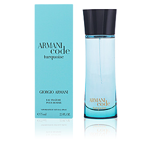 ARMANI CODE TURQUOISE HOMME