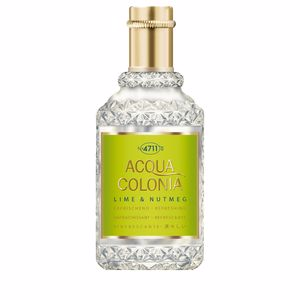ACQUA COLONIA Lime & Nutmeg eau de cologne splash & spray 50 ml