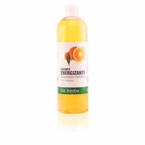 Champú purificante CHAMPÚ ENERGIZANTE mandarina y naranja Tot Herba