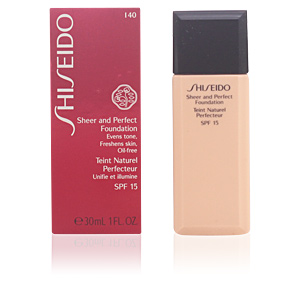 SHEER & PERFECT foundation SPF15 #I40-fair ivory 30 ml
