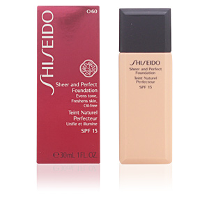 SHEER & PERFECT foundation SPF15  #O60-deep ochre 30 ml