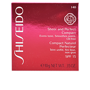 Base maquiagem SHEER & PERFECT compact foundation SPF15 Shiseido