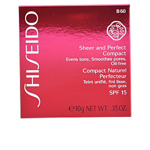 SHEER & PERFECT compact foundation SPF15 #B60-deep beige