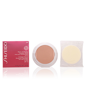 Fondotinta SHEER & PERFECT compact foundation ricarica Shiseido