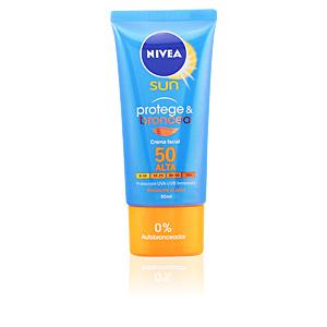 Nivea, SUN PROTEGE&BRONCEA crema facial SPF50 50 ml