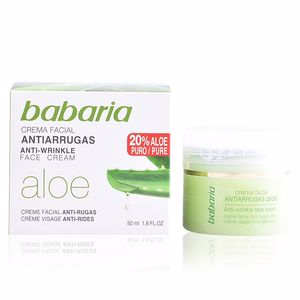 Anti aging cream & anti wrinkle treatment ALOE VERA anti-wrinkle face cream Babaria