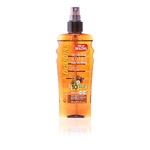 Ciało SOLAR ACEITE BRONCEADOR COCO SPF10 spray Babaria