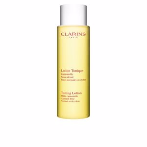 Face toner LOTION TONIQUE sans alcohol peaux normales ou sèches Clarins