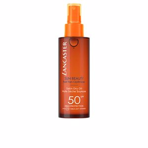 Body SUN BEAUTY fast tan optimizer dry oil SPF50 spray Lancaster