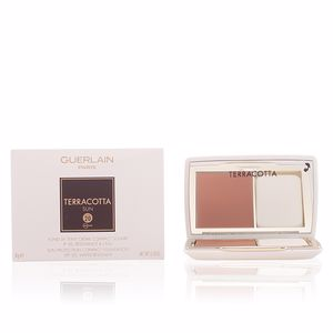 Base de maquillaje TERRACOTTA SUN fond de teint crème compact Guerlain