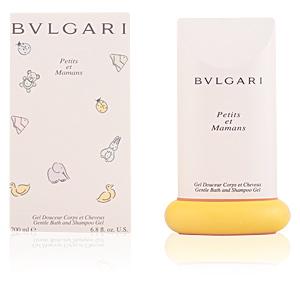 Shower gel PETITS ET MAMANS gentle bath and shampoo gel Bvlgari