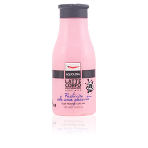 Body moisturiser LE GOURMAND body milk #rose frosted cupcake Aquolina