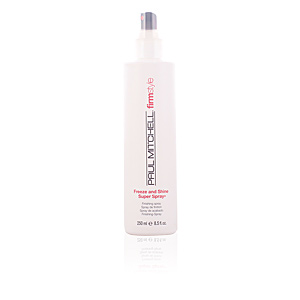 Produit coiffant FIRM STYLE freeze & shine super spray Paul Mitchell
