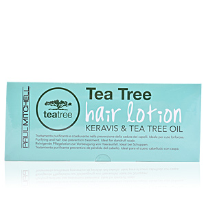 Hair loss treatment TEA TREE & KERAVIS hair lotion Paul Mitchell