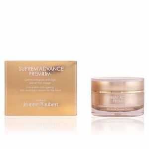 Anti aging cream & anti wrinkle treatment SUPREM'ADVANCE PREMIUM jour et nuit visage Jeanne Piaubert