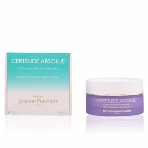 Anti aging cream & anti wrinkle treatment CERTITUDE ABSOLUE crème de nuit anti-rides ultra Jeanne Piaubert