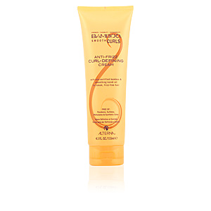 Producto de peinado BAMBOO SMOOTH CURLS anti-frizz curl-defining cream Alterna