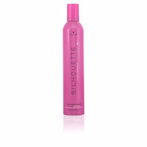 Hair styling product - Hair styling product SILHOUETTE color brilliance mousse super hold Schwarzkopf