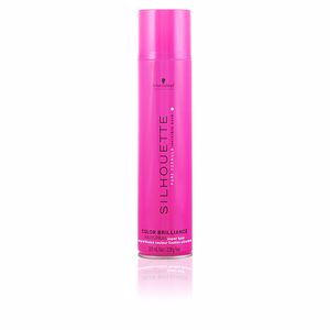 Produit coiffant SILHOUETTE color brillance hairspray super hold Schwarzkopf