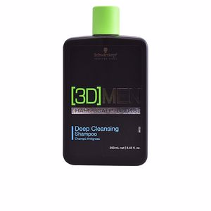 3D MEN deep cleansing shampoo 250 ml