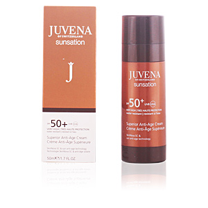 Facial SUNSATION superior anti-age face cream SPF50+ Juvena